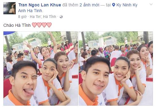 Facebook sao Việt: Chồng doanh nhân của Hoa hậu Thu Vũ lần đầu lộ diện 9
