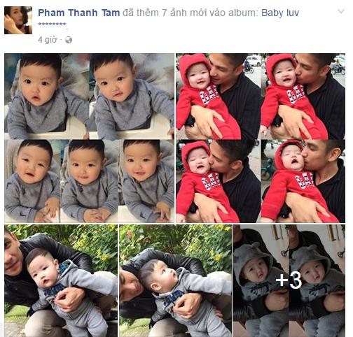 Facebook sao Việt: Chồng doanh nhân của Hoa hậu Thu Vũ lần đầu lộ diện 14