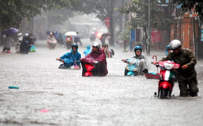 Áp thấp nhiệt đới kép hướng vào Việt Nam, cảnh báo mưa lớn ở miền Bắc 1
