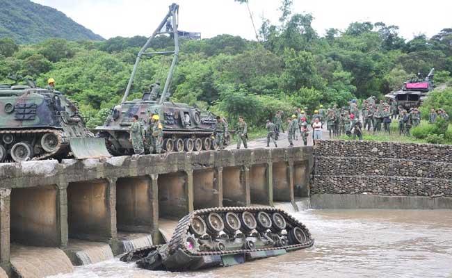 Lật xe tăng xuống suối, 3 binh sĩ thiệt mạng ở Đài Loan 1