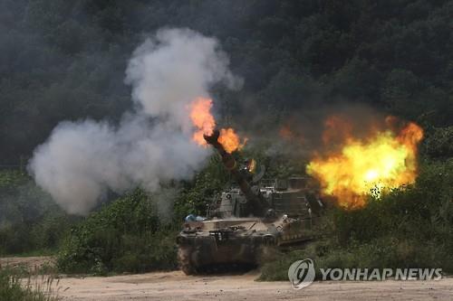 Hàn Quốc tập trận pháo binh quy mô lớn nhất