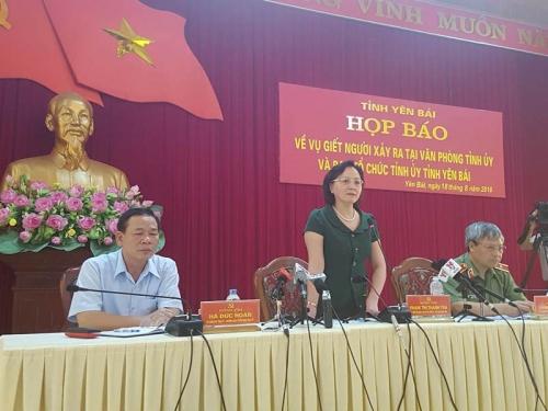 Khởi tố vụ án Bí thư và Chủ tịch HĐND tỉnh Yên Bái bị bắn chết 1