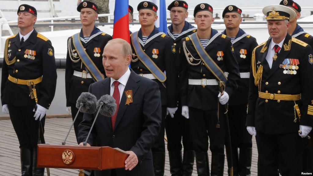 Tổng thống Putin thăm Crimea trong bối cảnh căng thẳng leo thang 1