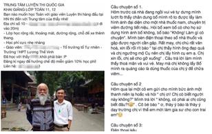 PGS Văn Như Cương lên tiếng việc bị lợi dụng hình ảnh quảng cáo TT gia sư 1