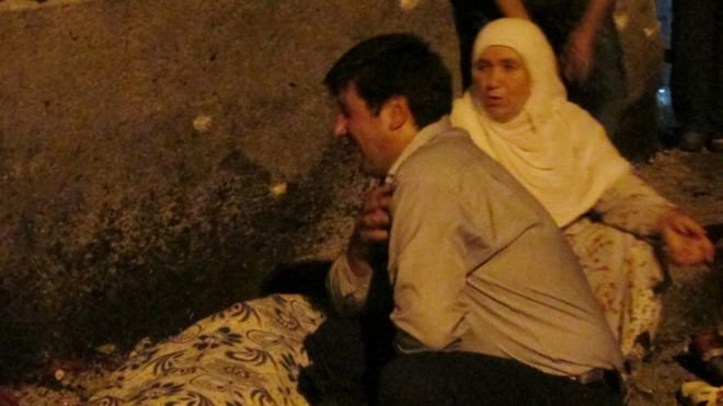 Đánh bom đám cưới ở Thổ Nhĩ Kỳ, 22 người chết 1