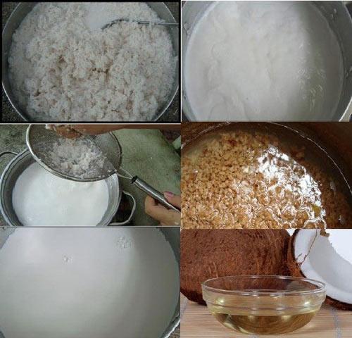 Hình ảnh Cách làm dầu dừa nguyên chất tại nhà nhanh và đơn giản nhất hiện nay số 1