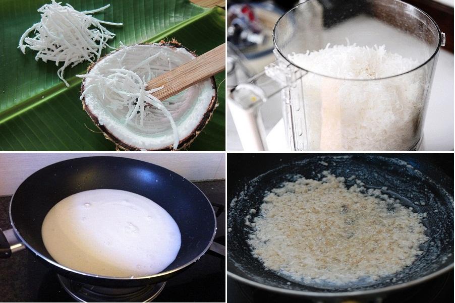 Hình ảnh Cách làm dầu dừa nguyên chất tại nhà nhanh và đơn giản nhất hiện nay số 2