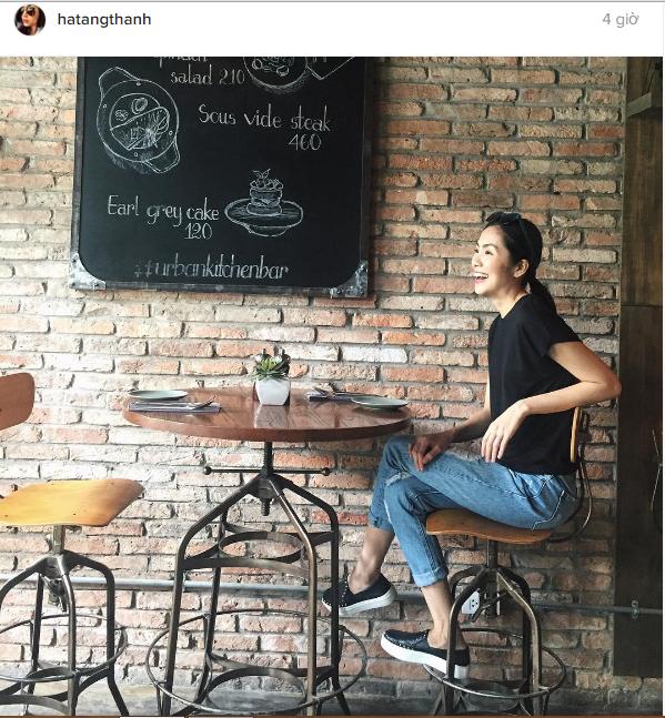 Facebook sao Việt: Thanh Hằng đẹp tựa thiên thần, Lý Hải đảm đang chăm sóc con 4