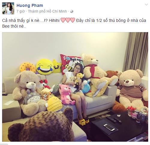 Facebook sao Việt: Thanh Hằng đẹp tựa thiên thần, Lý Hải đảm đang chăm sóc con 8