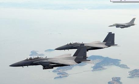 Hàn Quốc điều chiến đấu cơ rượt đuổi 3 máy bay Trung Quốc xâm nhập 1