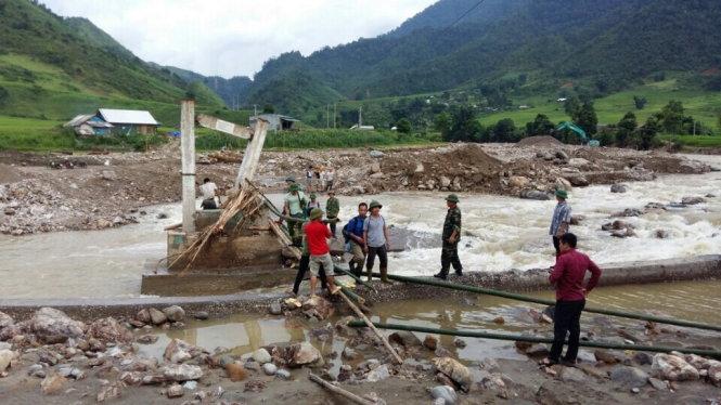 Vụ lũ cuốn tại bãi vàng ở Lào Cai: Có bao nhiêu người chết? 1
