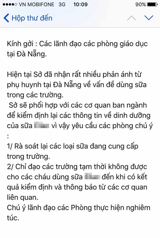 Đà Nẵng: Giám đốc Sở Giáo dục bị giả mạo thư điện tử 1