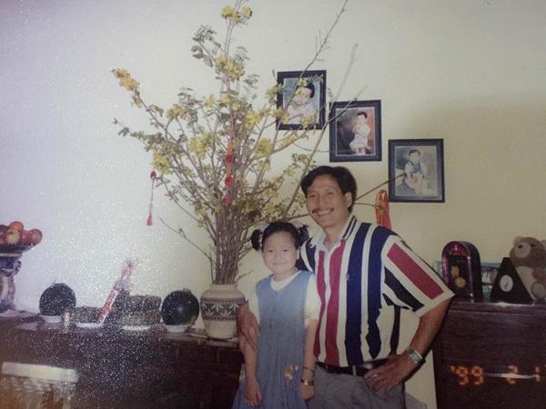 Học trò Phạm Hương khoe hình ngày bé dễ thương như con trai 6