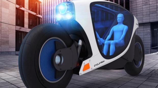Xe máy tự lái, tự cân bằng sắp xuất hiện trong tương lai 1