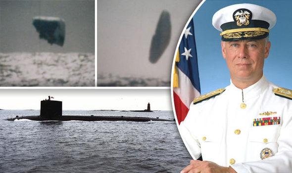 Tiết lộ hình ảnh hiếm về UFO năm 1971 do tàu ngầm Mỹ