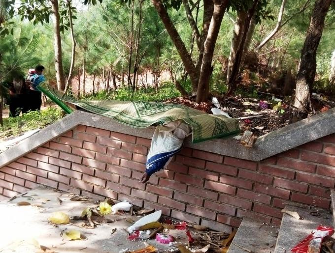 Phát hiện xác thiếu nữ gần Đài tưởng niệm Liệt sỹ  1