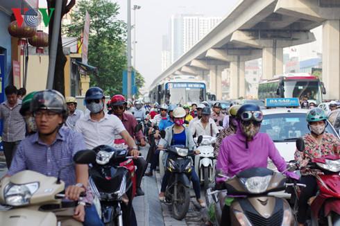 Những nút thắt cổ chai gây ùn tắc trên tuyến Nguyễn Trãi – Trần Phú 1