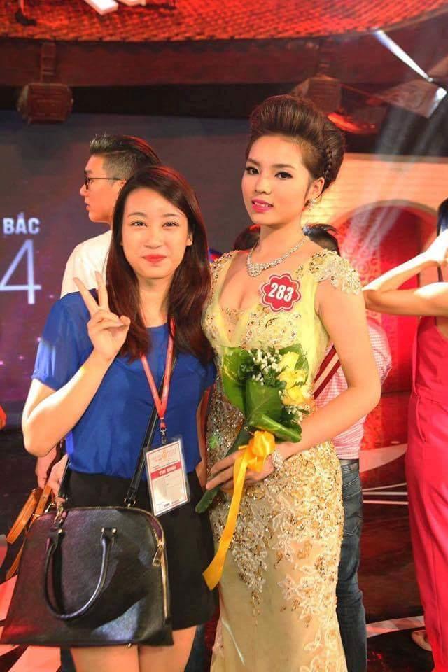 Tân Hoa hậu Đỗ Mỹ Linh từng ở hậu trường ủng hộ Kỳ Duyên hai năm trước 1