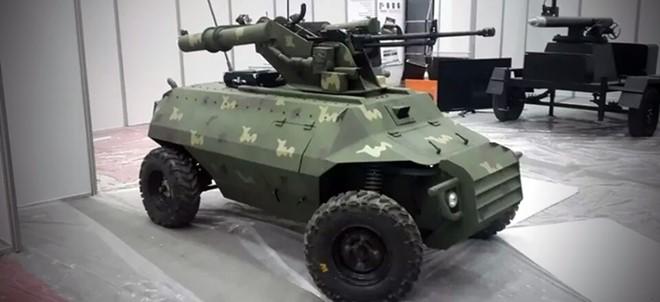 Robot sát thủ diệt IS do Iran chế tạo 1