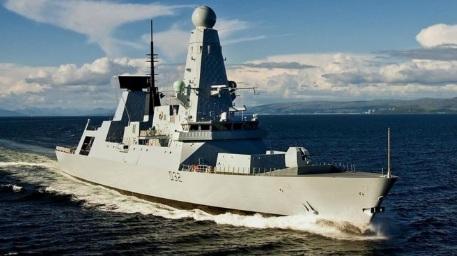 Hải quân Anh triển khai khu trục hạm tối tân tiêu diệt IS 1