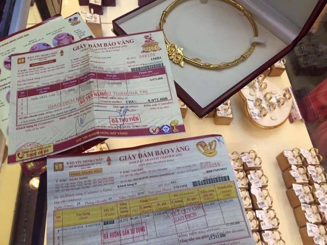 Vụ giao nhầm kiềng vàng: Bảo Tín Minh Châu xin lỗi khách hàng 1