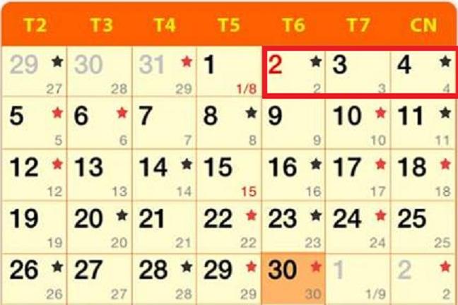 Thông báo chính thức lịch nghỉ lễ quốc khánh 2/9/2016 1
