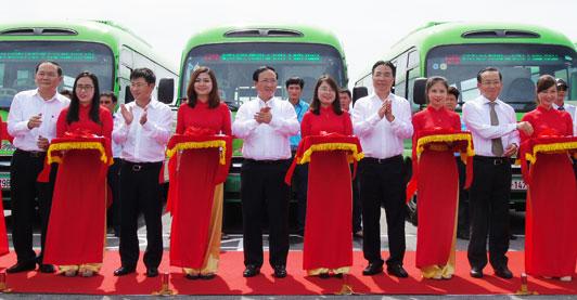 Hà Nội khai trương thêm 2 tuyến buýt gom 84 và 85 nối các khu đô thị lớn 1