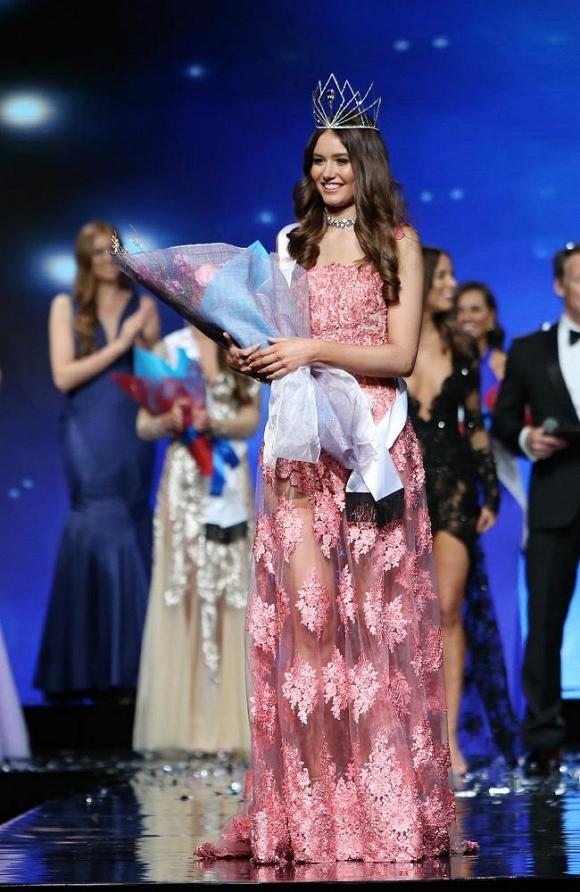Ngắm nhan sắc xinh đẹp của Tân Hoa hậu Hoàn vũ Australia 2016 1