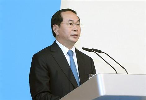 Chủ tịch nước Trần Đại Quang gửi thư chúc mừng khai giảng năm học mới 1