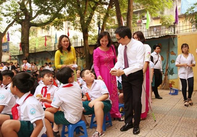 Chùm ảnh lãnh đạo Đảng, Nhà nước dự lễ khai giảng năm học mới 8