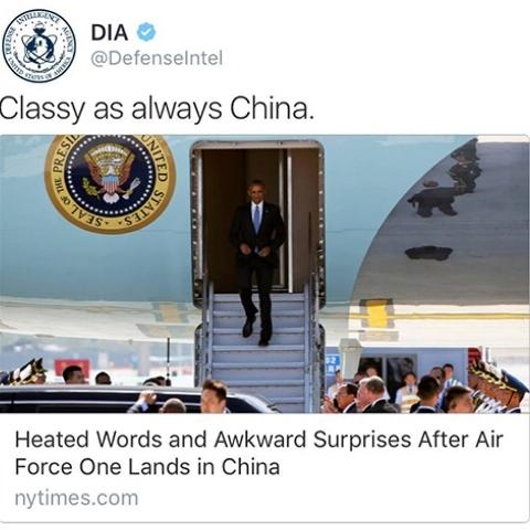 Tình báo Mỹ mỉa mai Trung Quốc vì sự cố ở sân bay 1
