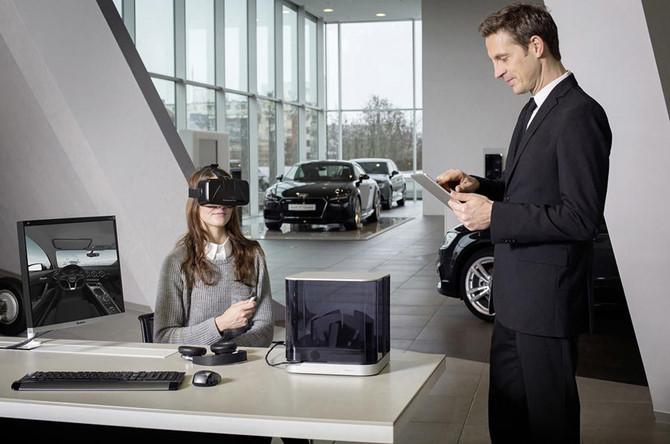 Audi sẽ cho khách hàng xem xe bằng kính thực tế ảo 3
