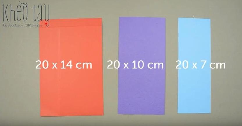 Hướng dẫn làm hộp đựng bút bằng giấy dễ thương 1