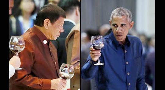 Obama - Duterte gặp mặt chớp nhoáng sau vụ thóa mạ 1