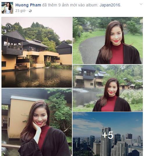 Facebook sao Việt: Siêu mẫu Ngọc Thúy