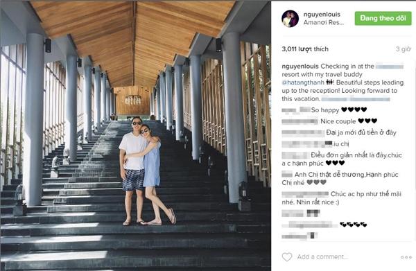 Vợ chồng Tăng Thanh Hà tận hưởng kỳ nghỉ sang chảnh 2