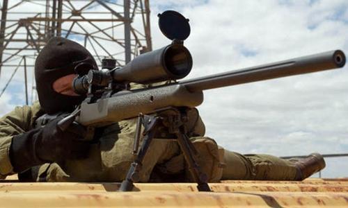 Lính bắn tỉa Anh tiêu diệt 4 chiến binh IS chỉ với 1 phát đạn 1