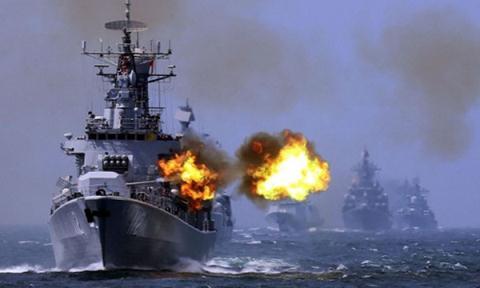 Nga - Trung điều tàu ngầm, máy bay tập trận 8 ngày ở Biển Đông 1