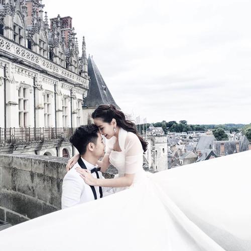 Ảnh cưới lãng mạn tại Paris của BTV Mai Ngọc  1