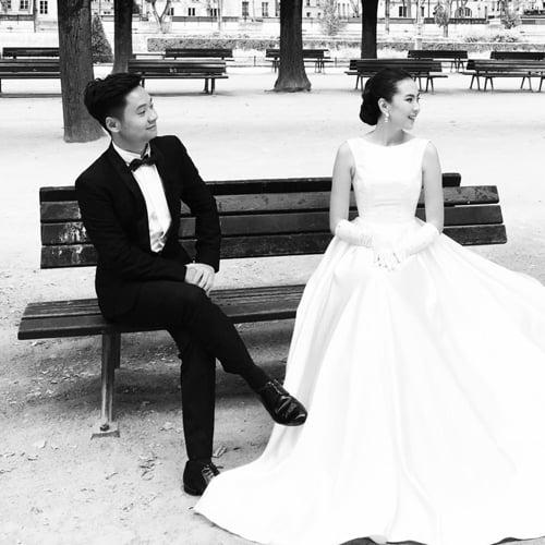 Ảnh cưới lãng mạn tại Paris của BTV Mai Ngọc  2