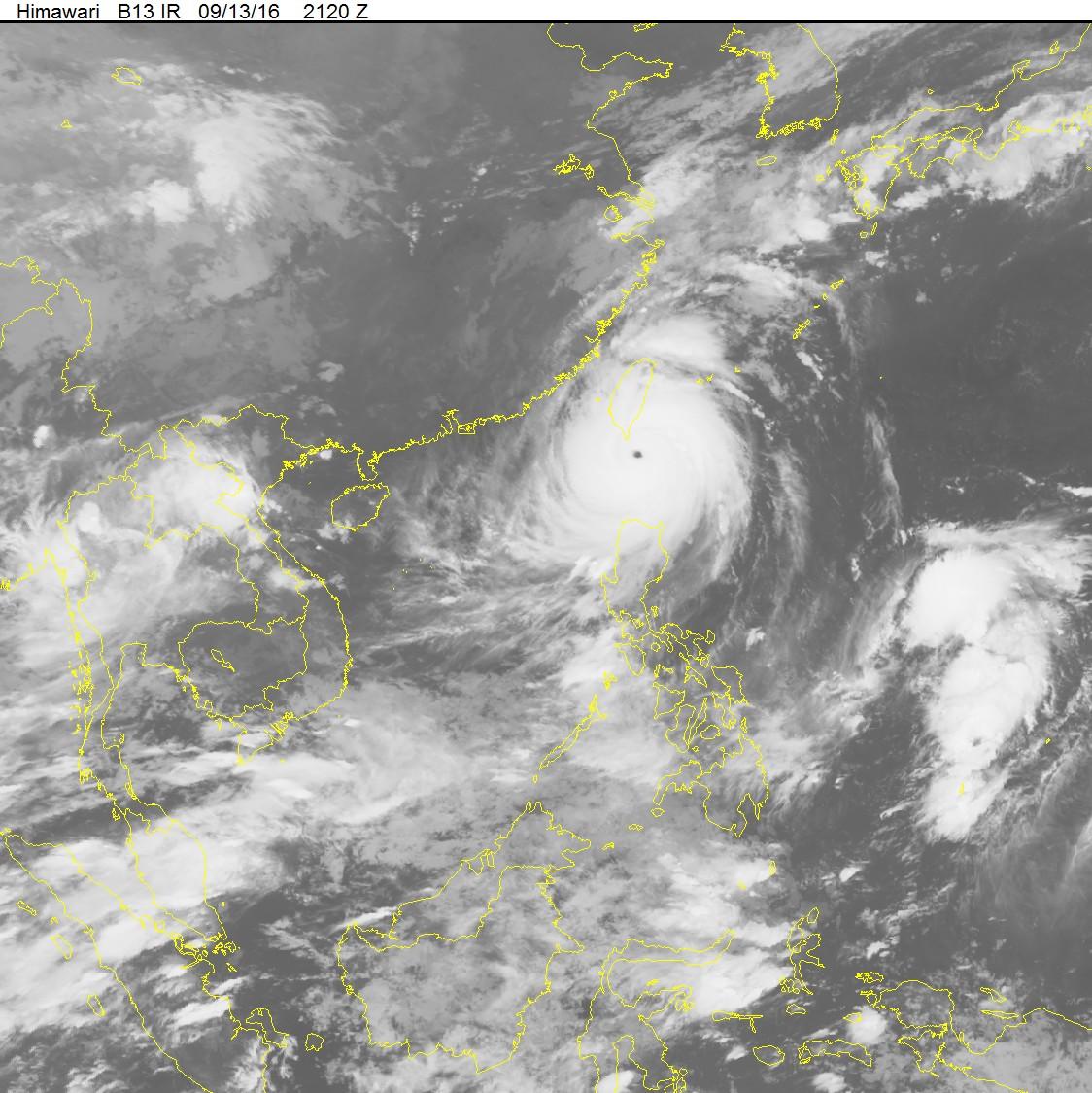 Siêu bão Meranti có thể trở thành cơn bão mạnh nhất tại Biển Đông 1