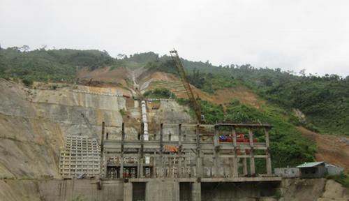 Hiện trường vụ vỡ ống thủy điện Sông Bung 2, hàng chục người mất tích 1