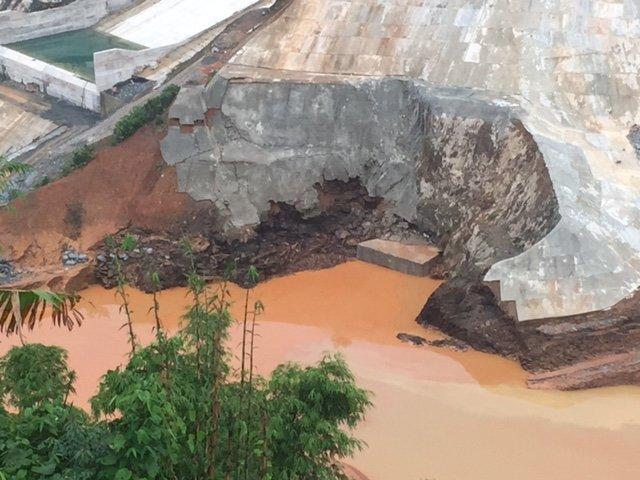 Hiện trường vụ vỡ ống thủy điện Sông Bung 2, hàng chục người mất tích 3