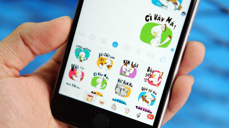 Hình ảnh Tải về ngay bộ sticker tiếng Việt đầu tiên trên Facebook số 1