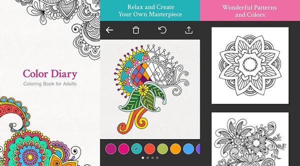 5 ứng dụng tô màu đầy nghệ thuật dành cho người lớn 2
