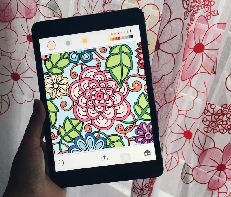 5 ứng dụng tô màu đầy nghệ thuật dành cho người lớn 1