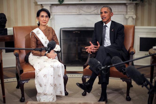 Mỹ hứa sẽ dỡ bỏ cấm vận kinh tế với Myanmar 1