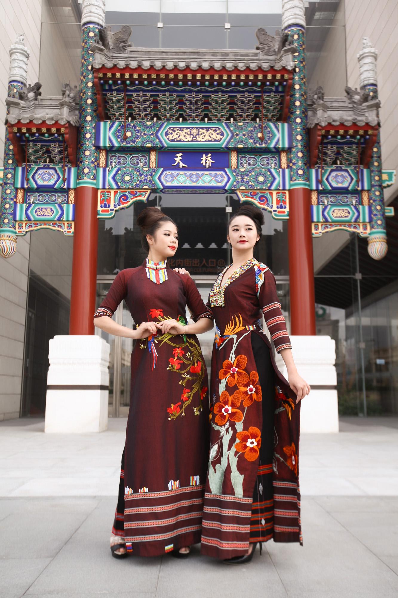 Nhà thiết kế Lan Hương mang bộ sưu tập áo dài