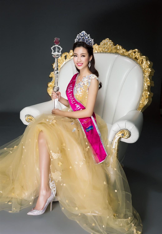 Nhan sắc kiêu kỳ của Top 3 Hoa hậu Việt Nam trong bộ ảnh dạ hội 3