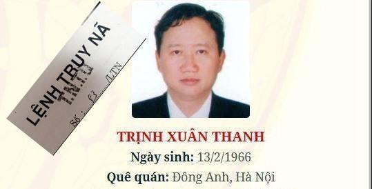 C46 Bộ Công an chính thức truy nã quốc tế bị can Trịnh Xuân Thanh 1